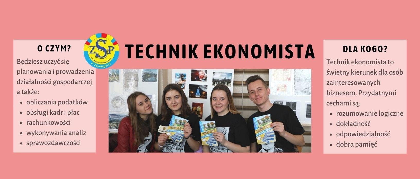 Technik ekonomista – rekrutacja 2021