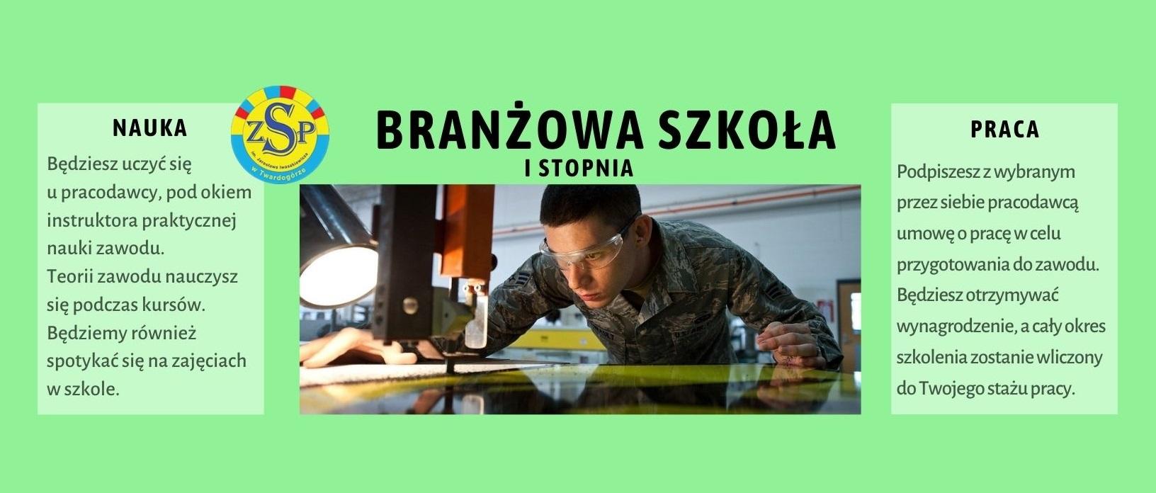 Szkoła Branżowa I stopnia – rekrutacja 2021