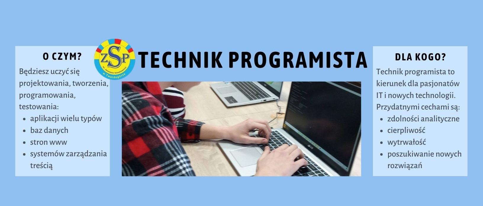Technik programista – rekrutacja 2021