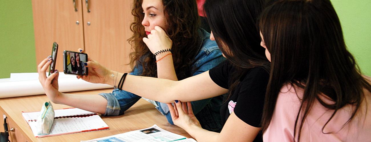 Na lekcjach jest fajnie… :)