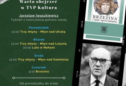 Tydzień z twórczością patrona szkoły w TVP Kultura
