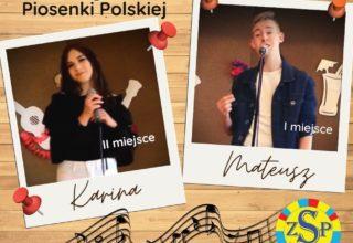Laureaci XII Gminnego Konkursu Piosenki Polskiej